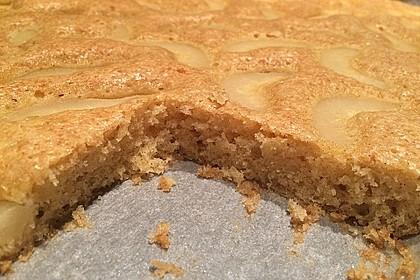 Birnen - Mandel - Kuchen