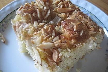 Birnen - Mandel - Kuchen 1