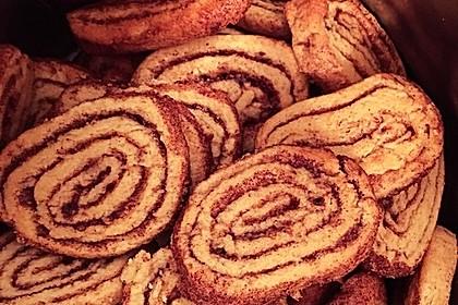 Zimtschnecken - Plätzchen (Bild)