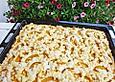 Pfirsichkuchen mit Streuseln