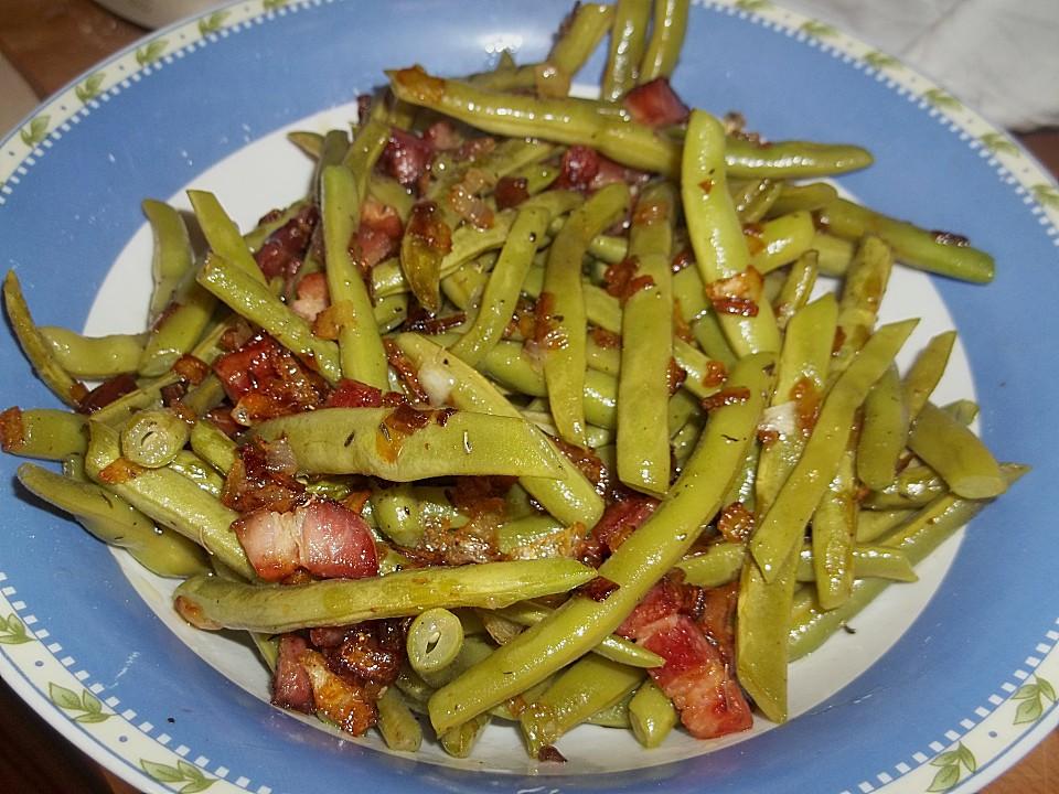 Grüne Bohnen Mit Speck Von Maja72 Chefkoch