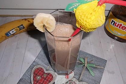 Bananen - Nutella - Milch 13