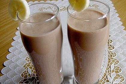 Bananen - Nutella - Milch 10