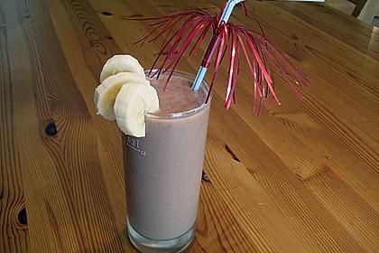 Bananen - Nutella - Milch 17