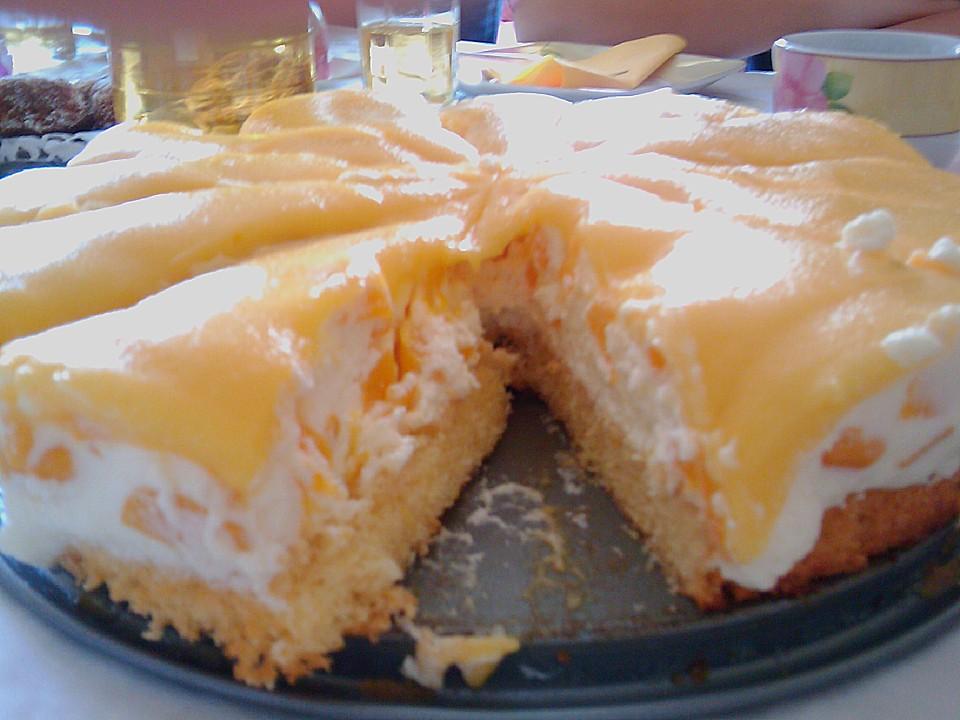 Pfirsich Maracuja Torte Von Sissimuc Chefkoch De
