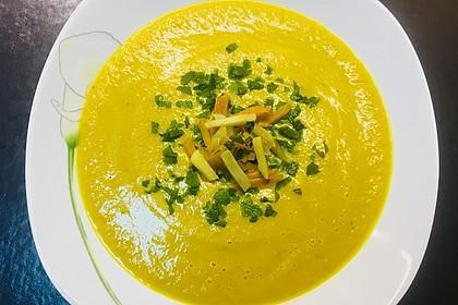 Schnelle Gemüsesuppe (Bild)