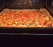 Schnelle Kartoffelpizza (Bild)