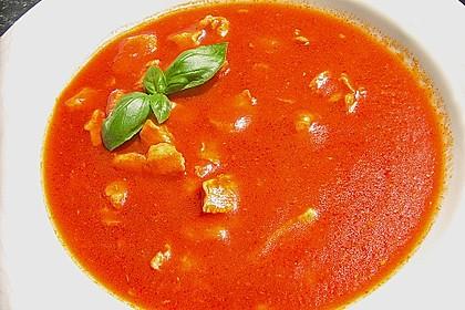 Tomatensuppe wie beim Chinesen