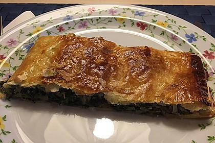 Blätterteigstrudel mit Spinat - Käsefüllung 1
