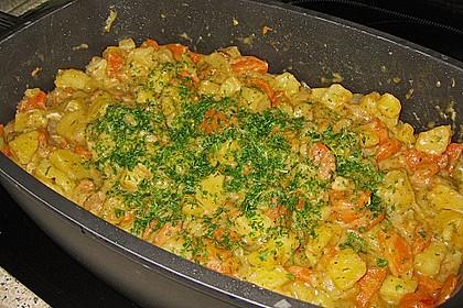Kotelett auf Gemüsepfanne 12