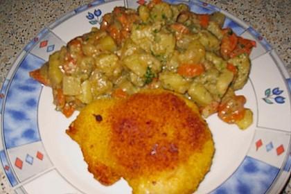 Kotelett auf Gemüsepfanne 10