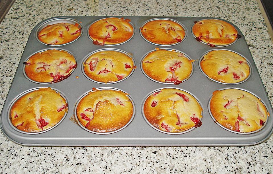 Erdbeer Joghurt Muffins Von Cookie Diva Chefkoch De