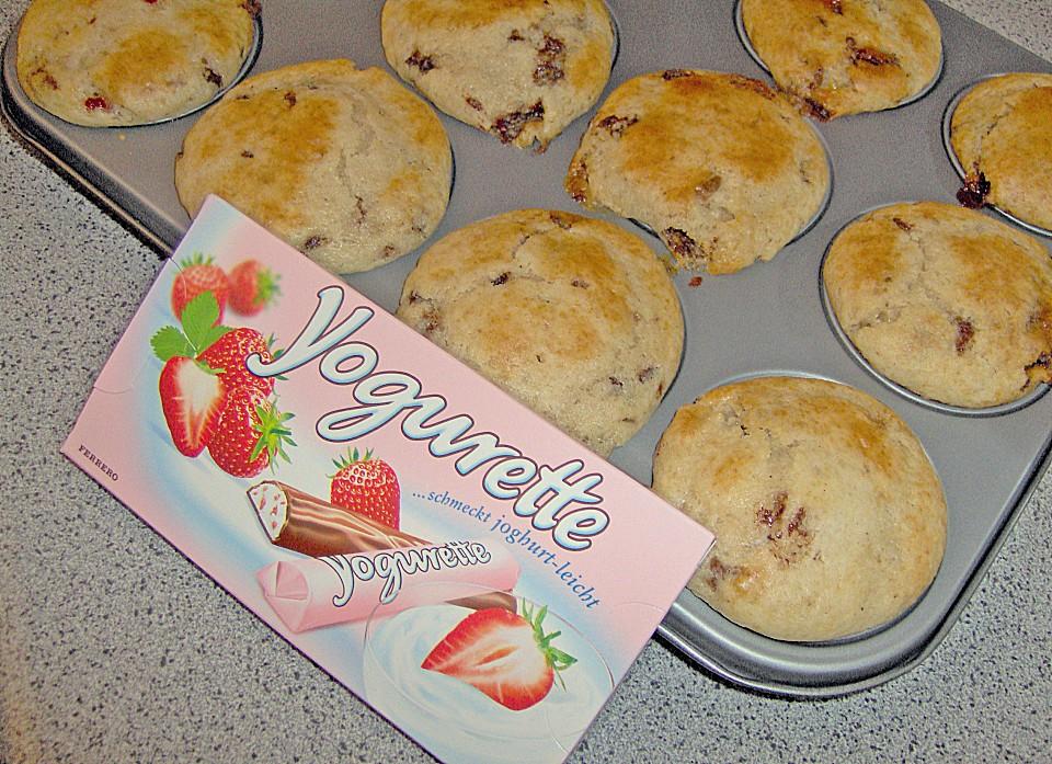 Yogurette Muffins Von Kleineyvi Chefkoch De