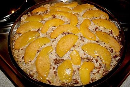 Pfirsich - Gehacktes - Auflauf 8