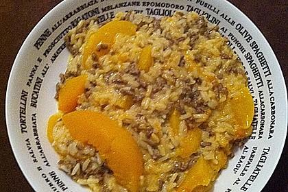 Pfirsich - Gehacktes - Auflauf 40