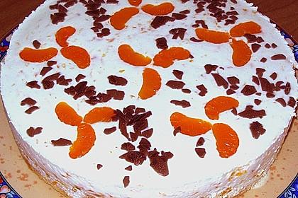 Mandarinen - Joghurt - Torte