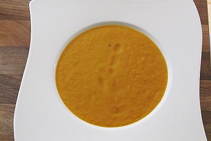 Hawaiianische Kokos - Ingwer - Karottensuppe 22