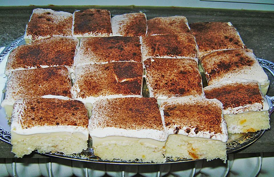 Fanta Schmand Kuchen Mit Pudding Und Mandarinchen Von Thobihex