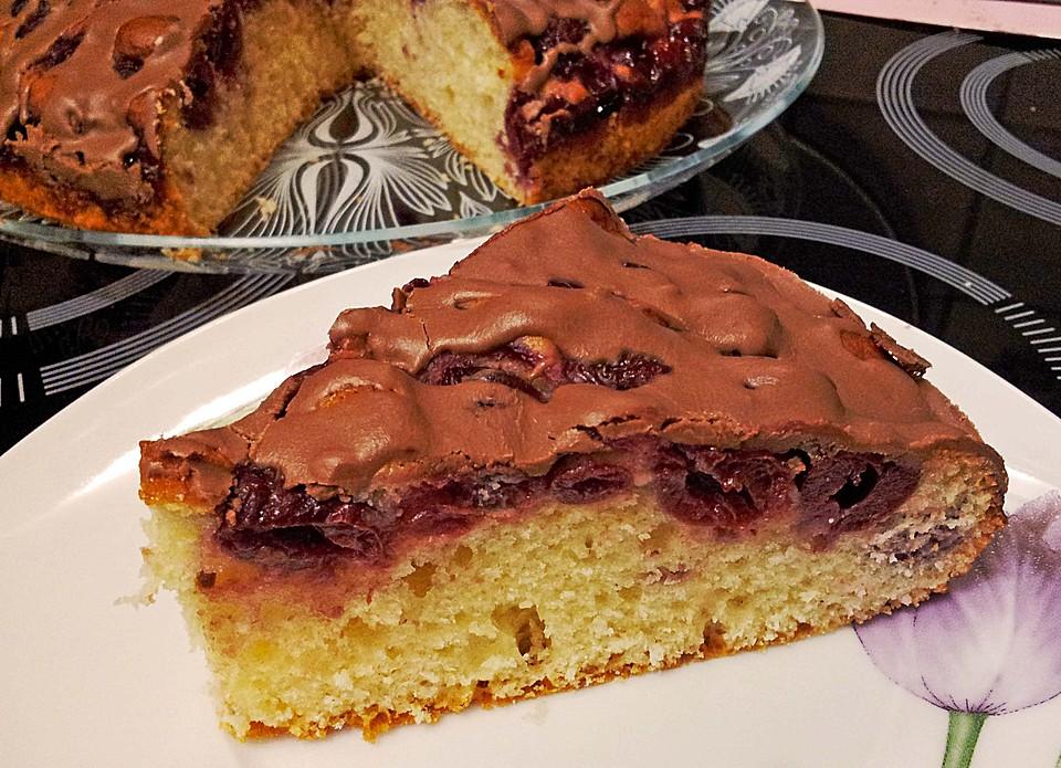 Ratz Fatz Kirschkuchen Von Cookingjulie Chefkoch De