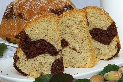 Haselnuss - Marmorkuchen 2