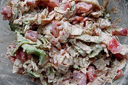 Scharfer Chinakohlsalat (Bild)