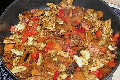 Kreolische Fleischpfanne 2