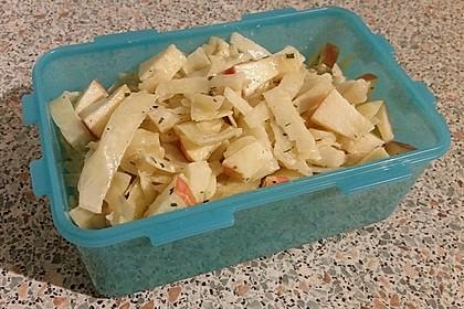 Apfel - Weißkohl - Salat 3
