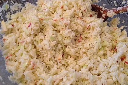 Apfel - Weißkohl - Salat 1
