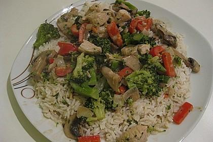 Puten-Gemüse-Pfanne mit Reis 2