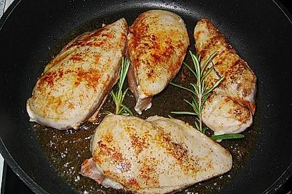 Hähnchenbrustfilet an leichter Kräutersoße 1
