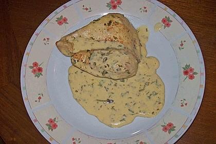 Hähnchenbrustfilet an leichter Kräutersoße 29