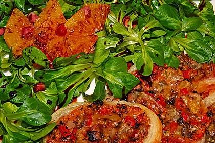 Farbenfreudiger Granatapfel - Orangen - Feldsalat 11