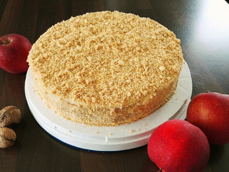 Torte Napoleon Von Nikkaland Chefkoch De