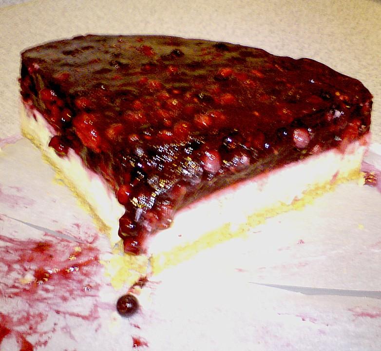 Griessbrei Torte Mit Beeren Von Java Chefkoch De