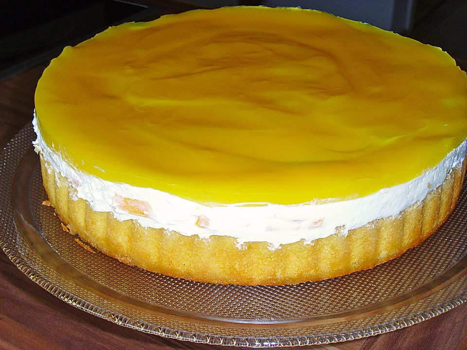 Schnelle Pfirsich Maracuja Torte Von Sue Ellen Chefkoch De