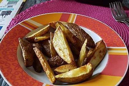 Würzige Kartoffelecken 4