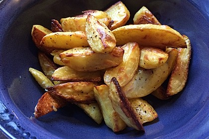 Würzige Kartoffelecken 3