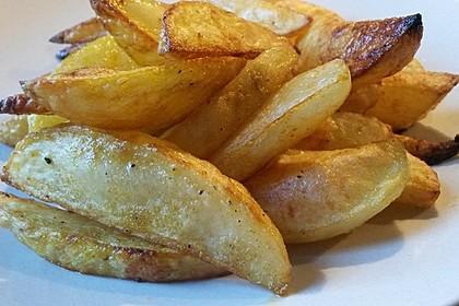 Würzige Kartoffelecken 1