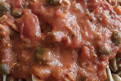 Überbackene Fischfilets in einer Kräuter - Tomatensoße 12