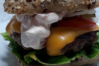 Burger - gesund, fettarm und lecker