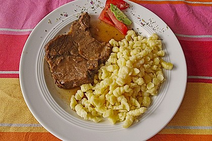 Omas  Fleisch aus der Kachel 16
