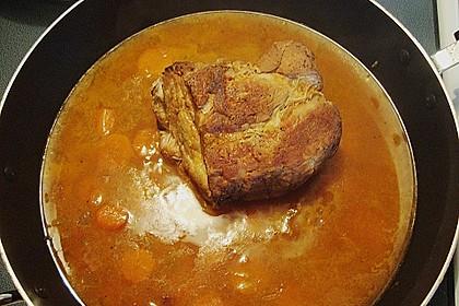 Omas  Fleisch aus der Kachel 38