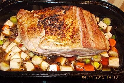 Omas  Fleisch aus der Kachel 15