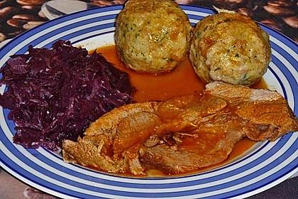 Omas  Fleisch aus der Kachel 8