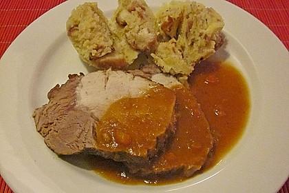 Omas  Fleisch aus der Kachel 32