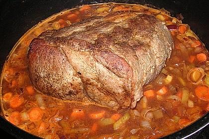 Omas  Fleisch aus der Kachel 11