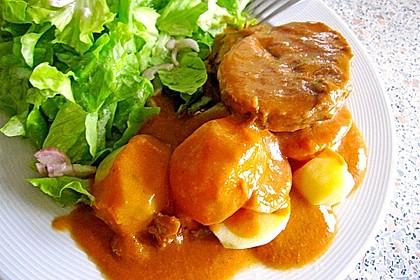 Omas  Fleisch aus der Kachel 21