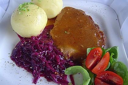 Omas  Fleisch aus der Kachel 2
