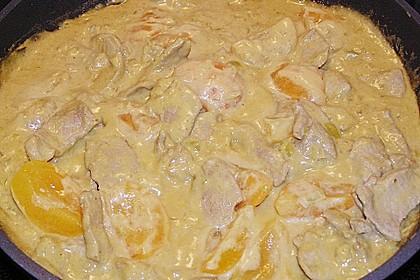Geschnetzeltes in Erdnuss - Sauce 2