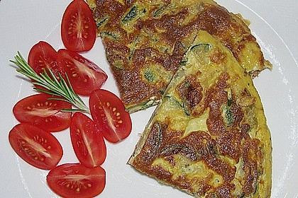 Zucchinifrittata 1